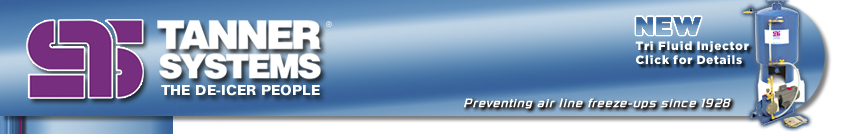 Tanner Systems ‹ the De-icer People
