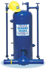 Tanner Systems Tanks for Permanent or Temporary Air Lines